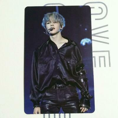 BTS Bantang JIMN Love Yourself World Tour Europe Blu-ray Official Photo Card LYS