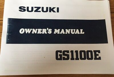 NOS SUZUKI GS400 Gs 400 B Parts Catalogue Manual Small