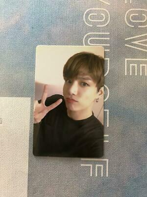 BTS Bantang JUNGKOOK Love Yourself World Tour Europe DVD Official Photo Card LYS
