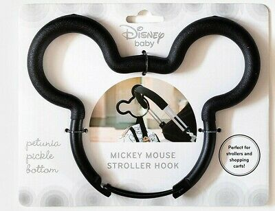 Disney Baby - Petunia Pickle Bottom - Disney Mickey Mouse Stroller Hook, Black