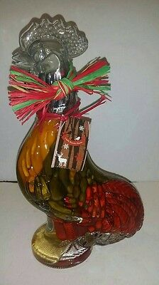 Chilli Rooster bottle made of glass