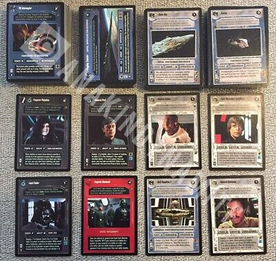 Star Wars CCG Death Star 2 Ultra Rare Cards