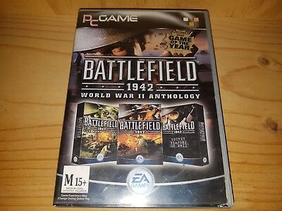 Battlefield 1942: The WWII Anthology 4 disks PC DVD ROM In VGC