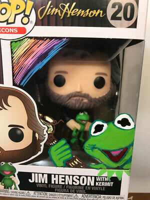 Jim Henson Funko Pop Kermit The Frog Guy Gilchrist Drawing Kermit Only Pre-Sale