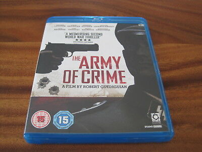 The Army Of Crime (Blu-Ray) Uk Import - Region B Locked - Wwii - Mint