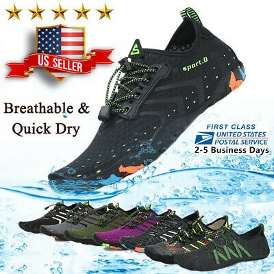 Water Shoes Quick Dry Barefoot for Swim Diving Surf Aqua Sport Beach Vaction