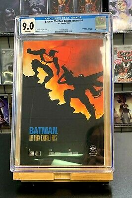"9.0 CGC Batman the Dark Knight Returns #4 ""Death"" of Alfred DC Comics 1986"