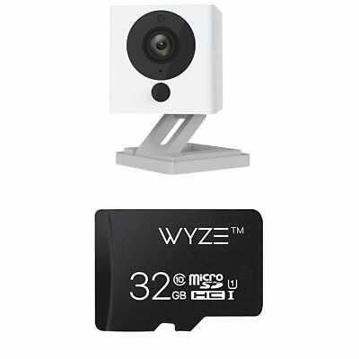Wyze Cam v2 1080p HD Indoor Wireless Smart Home Camera Night Vision w/ 32GB NEW