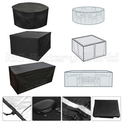 Heavy Duty Waterproof Rattan Cube Cover Outdoor Garden Furniture Rain Protection