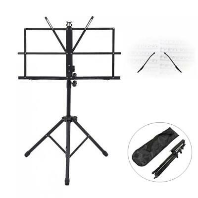 Folding Lightweight Music Stand Aluminum Alloy Tripod Stand Holder Carrying Bag