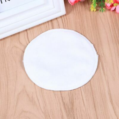 12pcs Pads Round Practical Washable Bamboo Fiber Pads Face Wipes for Lady Female