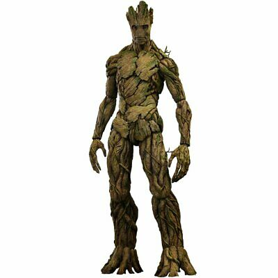 Movie Masterpiece Guardians Of The Galaxy Groot 1/6 Scale Plastic Painted Action
