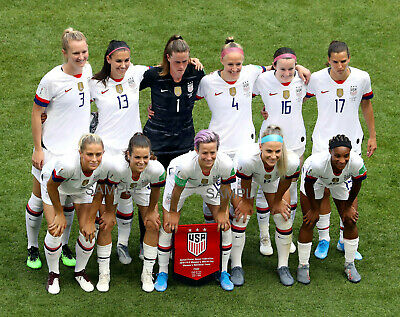 2019 FIFA WOMENS WORLD CUP FINAL USA SOCCER NATIONAL TEAM 11x14 PHOTO