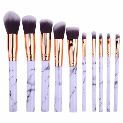 10PCS Morphe Professional Cosmetic Makeup Brush Set Eyeshadow Foundation Brushes