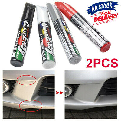 2Pcs Professional Magic Car Scratch Repair Paint Pen G Fix It Coat Clear