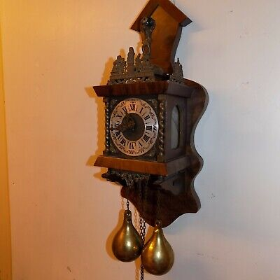 Dutch Antique/Vintage Wall Clock