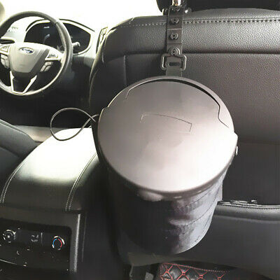 Hot Portable Foldable Collapsible Car Trash Can Leakproof Trash Bin W/Lid