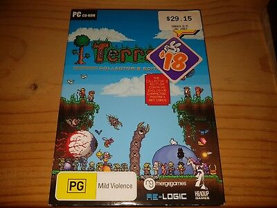 Terraria Collectors Edition - PC CD-Rom Game In Very Good Condition