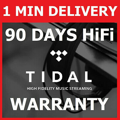 TIDAL HiFi 90 DAYS | 3 MONTHS - Worldwide / Warranty / AUTO-DELIVERY 24/7