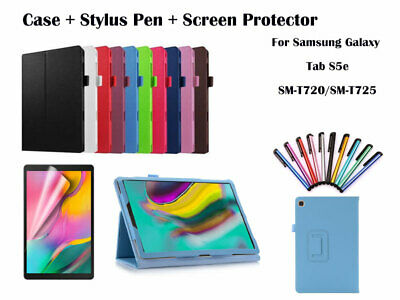 For Samsung Galaxy Tab S5e 10.5,  T720 T725 Flip PU Leather Smart Case Cover