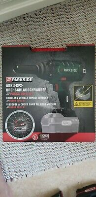 Parkside Cordless car Vehicle Impact Wrench Gun 20V team 5 bare unit