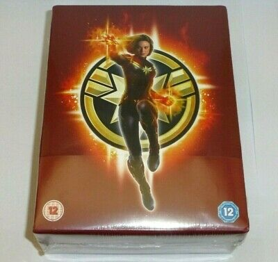 Captain Marvel : 3D + 2D Blu-ray Steelbook COLLECTOR'S EDITION Limited Edition