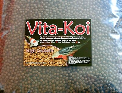 5kg Japanese Koi carp Hi Growth Pellets food Fish 2mm