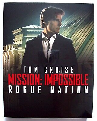 Mission Impossible Rogue Nation Blu-ray Steelbook FilmArena Collection Edition 2