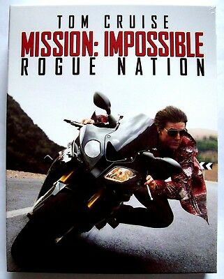 Mission Impossible Rogue Nation Blu-ray Steelbook FilmArena Collection Edition 1