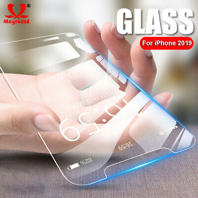 For Apple iPhone 2019 XI Max Tempered Glass Screen Protector Genuine Clear 2Pack