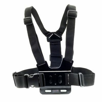 Chest Strap For GoPro HD Hero 6 5 4 3+ 3 2 1 Action Camera Harness Mount X2W9