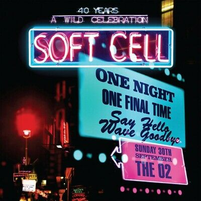 Soft Cell - Say Hello Wave Goodbye (Live At The O2 Arena) 2CD + DVD NEU & OVP