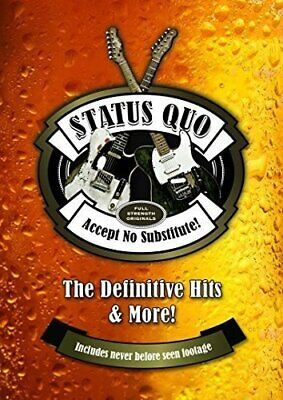 Status Quo - Accept No Substitute - Definitive Hits [Dvd] 2H - New & Sealed