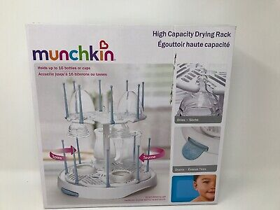 Munchkin High Capacity Drying Rack, White - New (other) Distressed Box