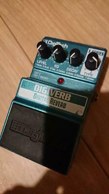 DigiTech DigiVerb Reverb Guitar Effect Pedal FREE SHIPPING