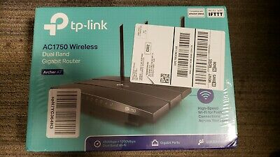 TP-Link Archer A7 AC1750 Wireless Dual Band Gigabit WiFi Router 3 Antenna (NEW)