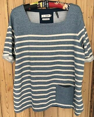 NEW Seasalt Sail Trim Striped Grey /& Green Tunic RRP £59.50 Just £24 Now 60/% OFF