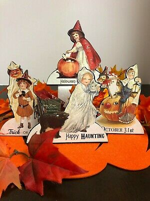 Bethany Lowe Halloween Trick or Treat Child Dummy Boards (set of 4): RL7300
