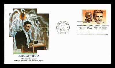 Dr Jim Stamps Us Nikola Tesla Inventor First Day Cover Washington Dc