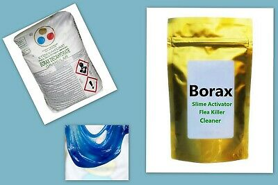 BORAX Slime Activator Maker Pure Sodium Tetraborate Decahydrate
