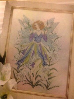 Lily Flower Fairy By Joan Elliott Cross Stitch Chart