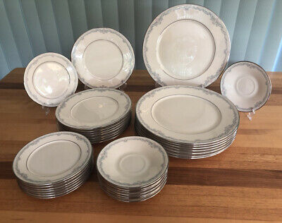 Lenox China Kingston Pattern Replacement Dinner, Salad, Bread/Butter, Saucers