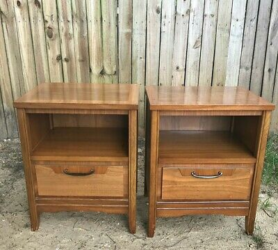 American Drew Furniture Night Stands W Drawer Pair 165 00 Picclick