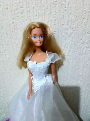 Vintage barbie doll with clothes