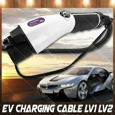 EV Charger Cable Level 1 & 2 For Model 3 X S Chevy Volt Nissan Leaf BMW i3 i8