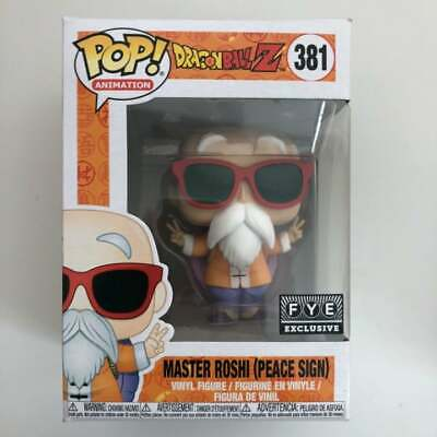 Funko Pop: Dragon Ball Z   Master Roshi (Peace Sign) FYE Exclusive #381