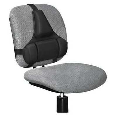 FELLOWES FEL8037601 Back Support,Memory Foam Cushion,Black