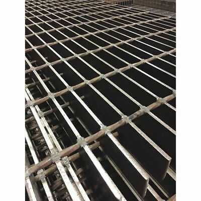 DIRECT METALS 21250S150-B4 Bar Grating,Smooth,24in.W x 1.5in.H