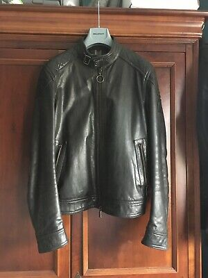 8f6310854 BELSTAFF V RACER Leather Jacket. UK38/EU48. Brand New With Tags RRP ...