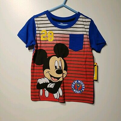 disney junior mickey mouse clubhouse toddler boys short sleeve t shirt size 3t